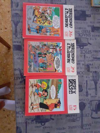 Pack 3 cómics coleccionables