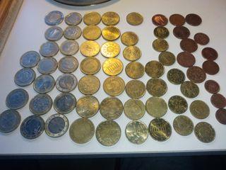 Colección de monedas de euro