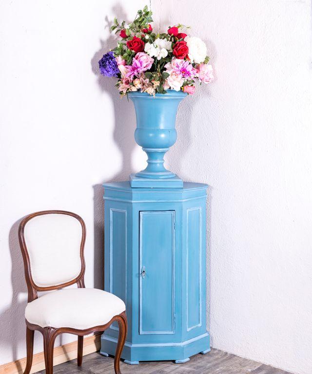 Mueble Esquinero Antiguo Restaurado Tasse