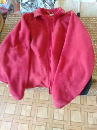 Forro Polar Columbia Rojo