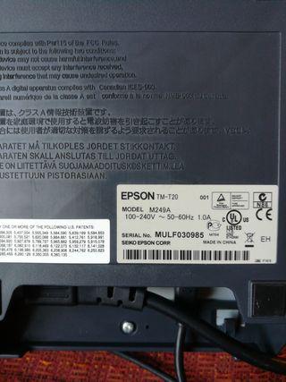 Impresora térmica: Epson tm-t20