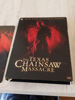 Película DVD Edición Especial THETEXASCHAINSAWMASS