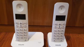 Teléfonos inalámbricos duo Philips