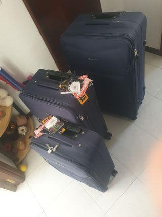 juego de maleta expandible 3 piezas