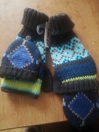 guantes sin dedos/ manopla