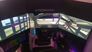 simulador de coches SIM RACING