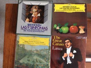 Discos LP Opera y Música Clásica