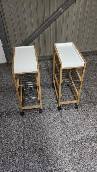 mesilla auxiliar de cocina (60x40x22)