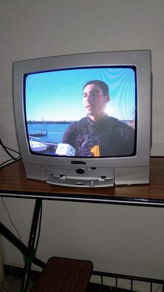 Televisor y mesita