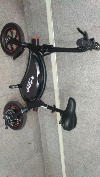 bicicleta eléctrica e-town