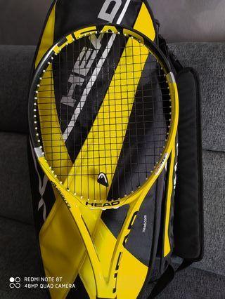 Raquetas de tenis y raquetero profecional