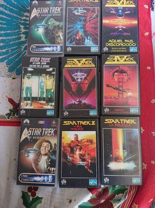 VHS, Star trek colección