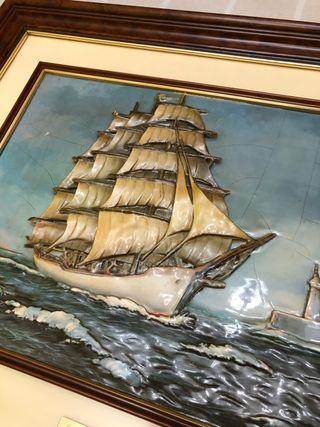 Cuadro barco de vela