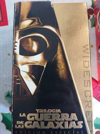 VHS, Trilogia, la guerra de las galaxias