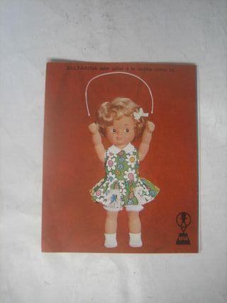catálogo muñecas Famosa Nancy Saltarina Alida Baby