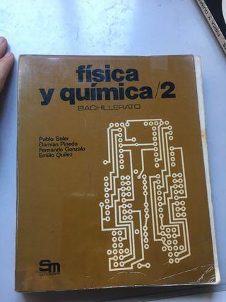 FISICA Y QUIMICA 2º BACHILLERATO