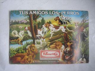 álbum cromos Panrico Tus amigos los perros