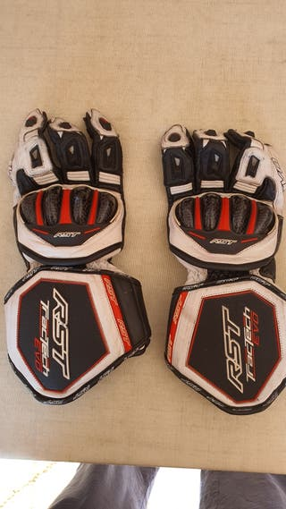 guantes Moto RST con refuerzos kevlar M