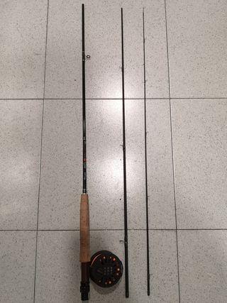 Equipo de pesca a mosca