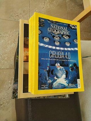 Revistas National Geographic. 19