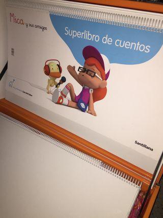 Superlibro de cuentos MICA Y SUS AMIGOS SANTILLANA