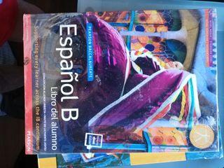 Libro de text Español B IB pearson