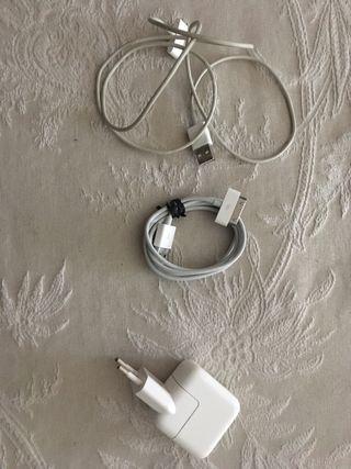 Cargador y cables iphone e ipad