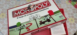 Juego de mesa Monopoly (Madrid)