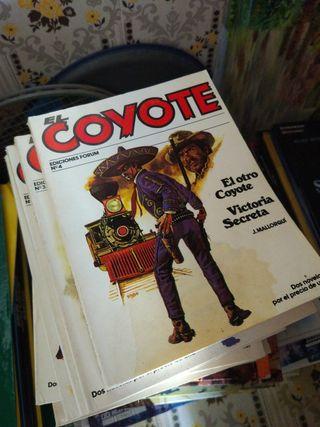 lote libros El Coyote