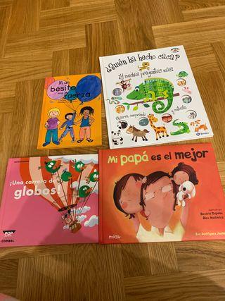 Lote cuentos infantiles.Ed Combel, Miau, Bruño
