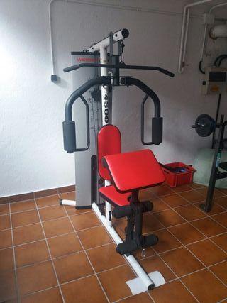 Máquina de musculación multiestación