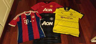 Camisetas de fútbol originales TALLA M