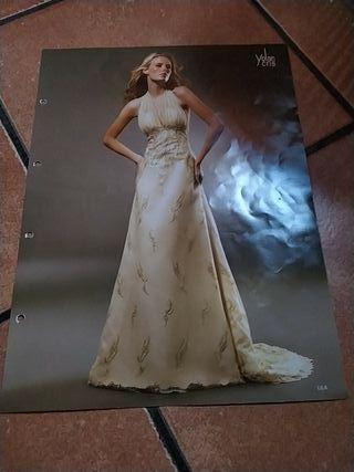vestido novia sin cancan y con velo tull