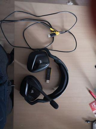 cascos inhalambricos corsair void pro rgb 7.1