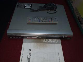 Pionner DVR 3100 Grabadora DVD. Compact DISC