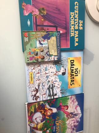 Lote 4 libros infantiles
