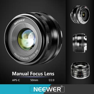 Objetivo 85 mm. Neewer, para Nikon