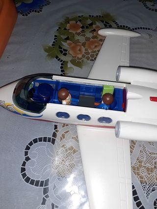avion de playmobil