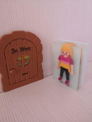 jabón de glicerina con playmobil