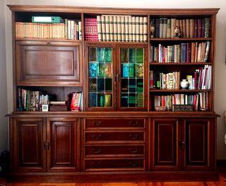 Mueble de salón vintage de madera