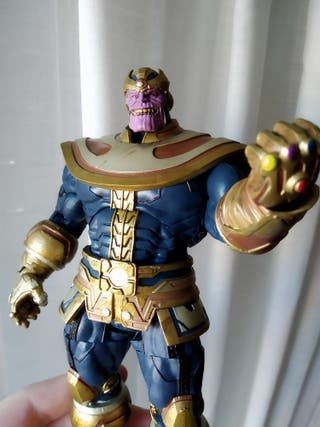 Thanos 20 cm ORIGINAL Marvel Select + cabeza extra