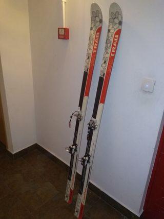 esquí travesía trab con fijaciones dinafit