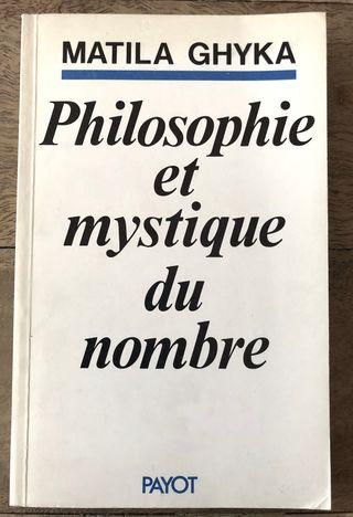 philosophie et mystique du nombre r Matila Ghyka