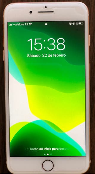 iPhone 8 Plus 64gb oro-rosa