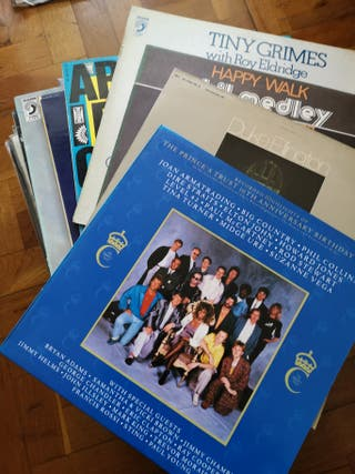 Lote 55 vinilos Blues/Jazz
