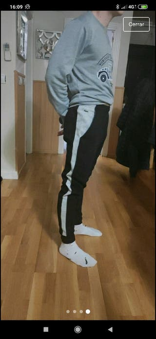 pantalón chándal lacoste