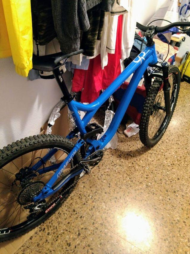 bicicleta commençal meta sx v3 2018 enduro