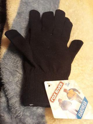 guantes negros termicos
