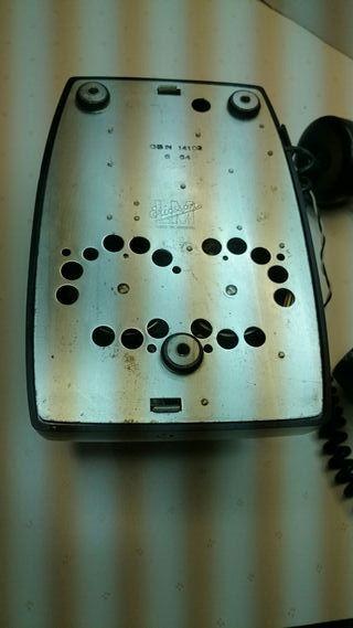 Telefono antiguo baquelita mural