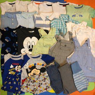 Lote: ropa bebé verano 3-6 MESES